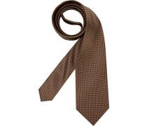 Herren Krawatte Edsor braungrau