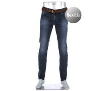 Jeans, Slim Fit, Baumwoll-Stretch T400 8,5oz