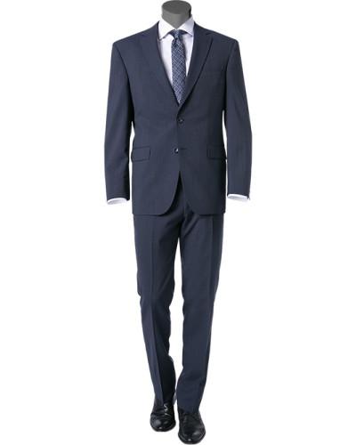 Anzug, Comfort Fit, Schurwolle, dunkel meliert