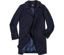 Herren strellson Premium Mantel Polyester wattiert dunkelblau