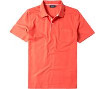 Herren Polo-Shirt Baumwolle mandarin orange