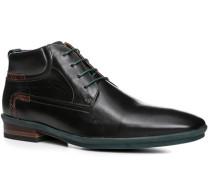 Herren Schuhe Stiefeletten, Kalbleder, schwarz