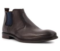 Schuhe Chelsea Boots Mirco Kalbleder dunkel