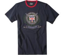 Herren T-Shirt Polo Club Navy blau