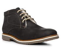 Herren Schuhe VARUS Rindleder warmgefüttert schwarz