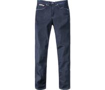 Herren Jeans, Baumwolle, nachtblau