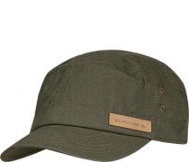 Herren QUIKSILVER Cap Baumwolle khaki grün