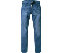 Herren Jeans Modern Fit Bauwoll-Stretch