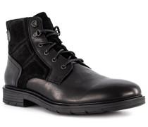Schuhe Boots mit Reißverschluss, Leder atmungsaktiv