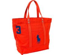 Herren Shopper, Canvas, orange