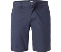 Hose Shorts Baumwolle marine