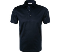 Polo-Shirt, Baumwoll-Jersey, nacht
