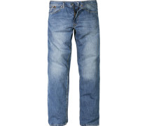 Herren Jeans 5-Pocket Baumwolle