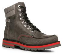 Herren Schuhe Stiefel Leder grau grau,schwarz