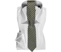 Herren Hemd mit Krawatte weiß