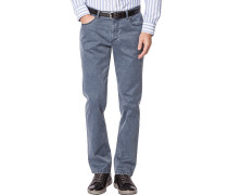 Herren Jeans Seth, Tailored Fit, Baumwoll-Stretch, graublau