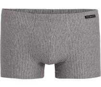 Herren Unterwäsche Trunk, Baumwolle, grau gestreift