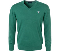 Pullover Baumwolle-Wolle smaragd