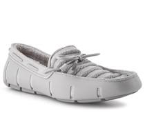 Schuhe Loafer, Kautschuk-Textil wasserresistent