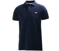 Herren Polo-Shirt Baumwoll-Piqué marine blau