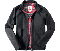 Herren Motorrad-Jacke, Regular Fit, Baumwolle COOLMAX®, schwarz
