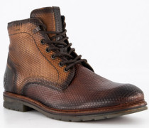 Schuhe Schnürboots Leder