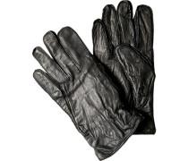 Herren  Handschuhe Büffelleder schwarz