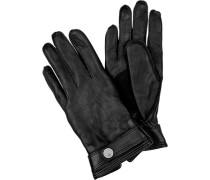 Herren  Handschuhe Leder schwarz