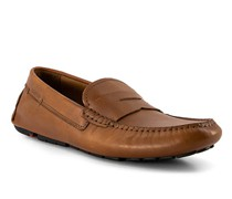 Schuhe Mokassin Emidio Rindleder cognac