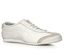 Herren Schuhe Sneaker Glattleder weiß