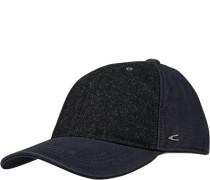 Herren Cap, Baumwolle, navy blau