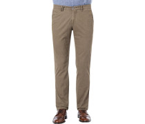 Hose Chino Slim Fit Baumwolle hell
