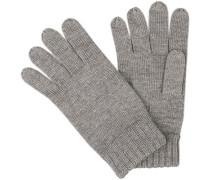Handschuhe, Merinowolle, hell meliert
