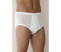 Herren Unterwäsche 'Royal Classic' Slip Baumwolle weiß weiß,schwarz
