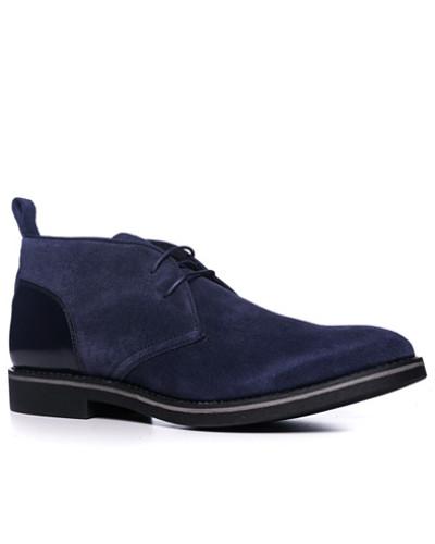 Strellson Herren Schuhe Desert Boots, Veloursleder, dunkel