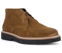 Schuhe Desert Boots Veloursleder zimt