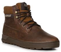 Herren Schuhe Schnürstiefel Leder braun