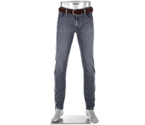 Jeans Slipe, Tapered Fit, Bio-Baumwoll-Stretch 11,5oz