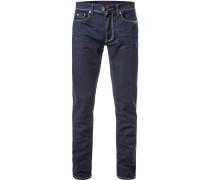 Jeans Slim Fit Baumwoll-Stretch 10 5oz marine