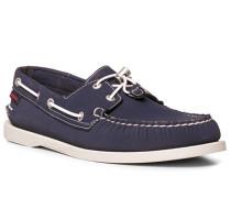 Herren Bootsschuhe Neopren navy