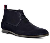 Herren Schuhe Desert-Boots, Veloursleder, nachtblau
