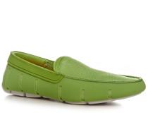 Herren Schuhe Loafer Mesh-Kautschuk lindgrün