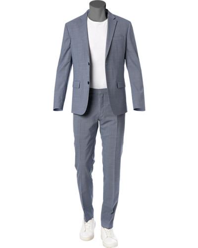 Anzug, Fitted, Schurwoll-Stretch,  kariert
