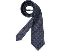 Herren Krawatte Edsor Wolle tauben-braun
