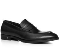 Herren Schuhe Loafer Rindleder schwarz schwarz,schwarz