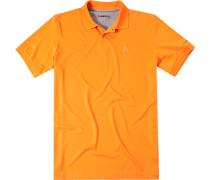 Herren Polo-Shirt Microfaser-Piqué Coolmax® leuchtorange