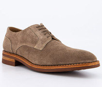 Schuhe Derby Veloursleder savana