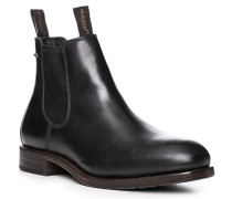 Herren Schuhe Chelsea Boots, Leder Gore-Tex®, schwarz