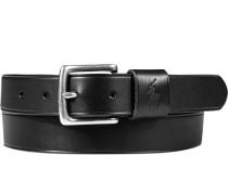 Herren Gürtel schwarz, Breite ca. 3 cm