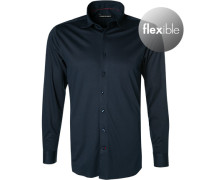 Hemd Tailored Fit Jersey navy